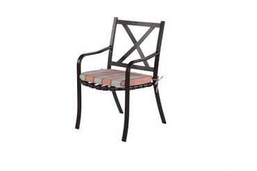 Lakeside Strap Dining Arm Chair