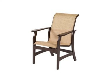 Covina Sling Dining Arm Chair