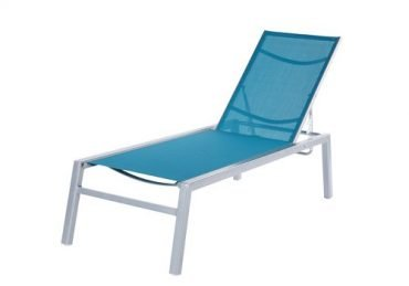 Madrid Sling Armless Chaise Lounge