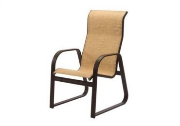 Cabo Sling Sled Base High Back Dining Chair