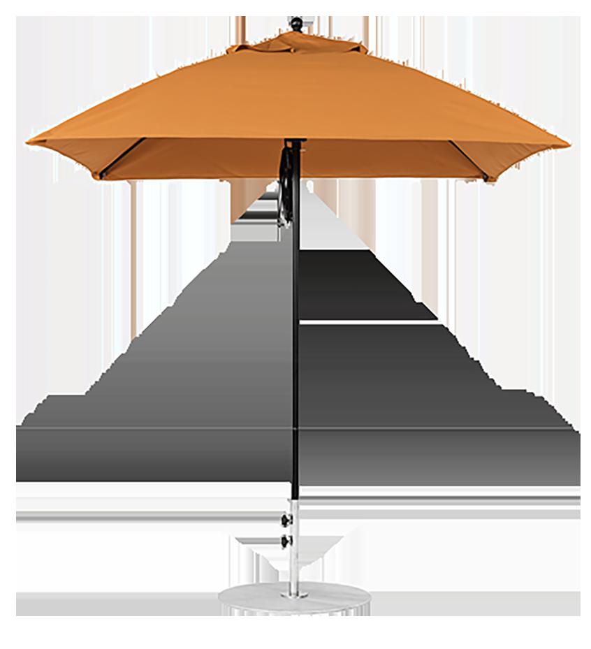 Orange Umbrella Fabric