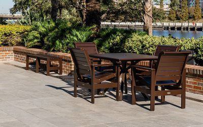 Long-lasting Outdoor Furniture for a Hotel is About Craftsmanship. Here's How to Spot It.